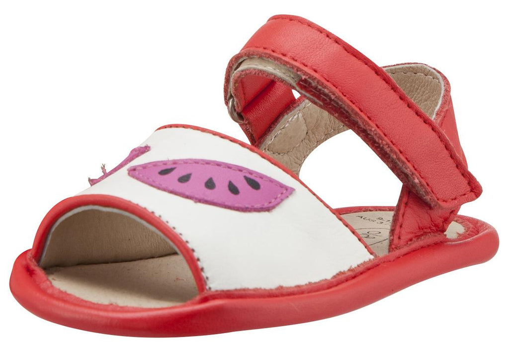 6b4dfb52c178e Old Soles Girl s 192 Trop Bambini Watermelon Smooth Bright Red and ...