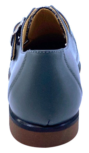Maria Catalan Boy's & Girl's Gris Grey Dress Shoe
