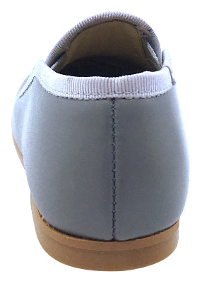baa27b84e52 Luccini Boy s and Girl s Front Seam Slip-On Smoking Loafer