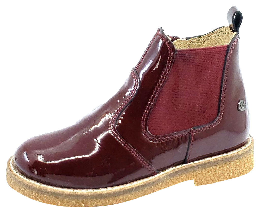 Naturino Boy's and Girl's Arthur boots, Vernice Bourdeux