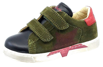 Naturino Boy's Arlon Shoes, Nero-Militare