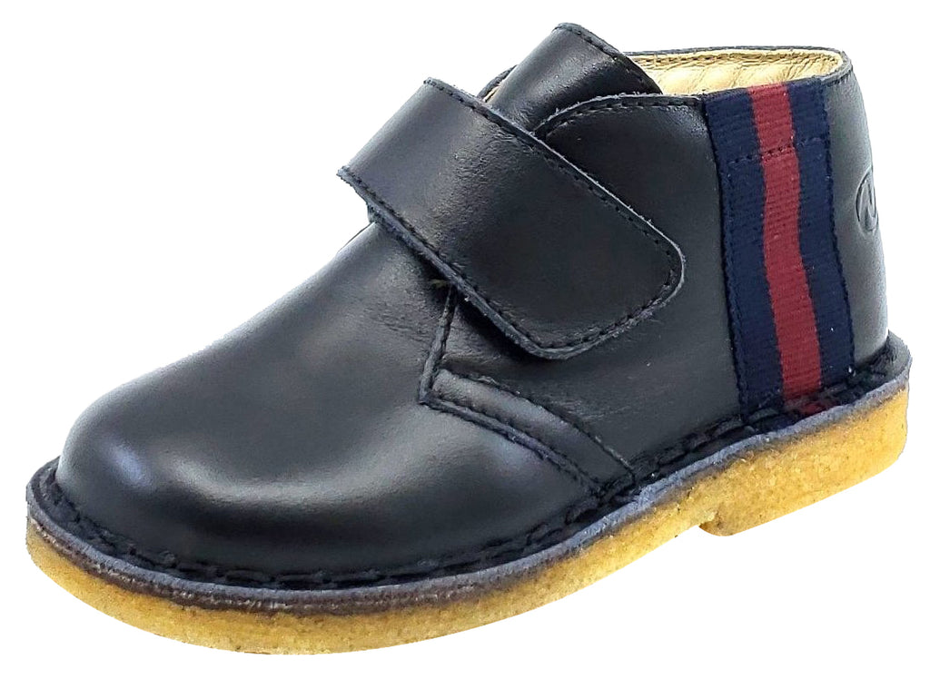 Naturino Falcotto Boy's CUNEO Black Shoes, VITELLO NERO