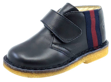 Naturino Girl's and Boy's CUNEO Black Shoes, VITELLO NERO