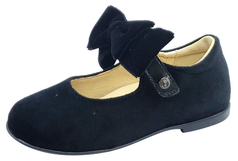 Naturino Girl's STRESA Dress Shoes, VELVET NERO