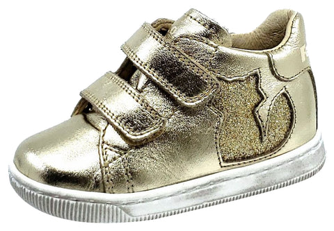 Naturino Falcotto Girls KLINGON Shoes, GLITTER PLATINO