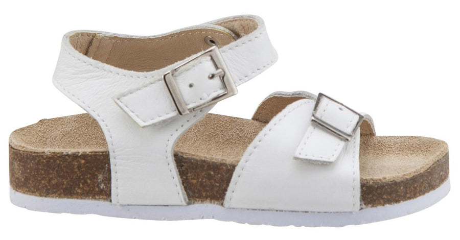 Old Soles Girl's Snow White Retreat Leather Sandals
