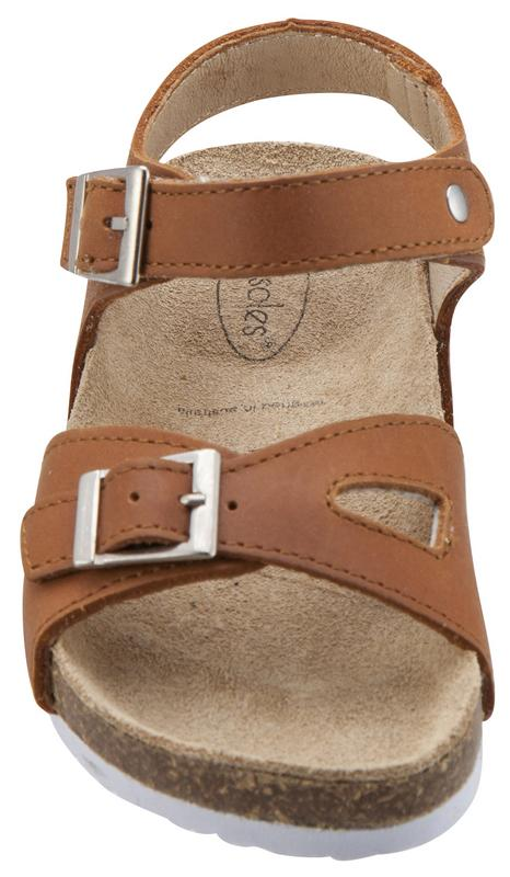 Old Soles Girl's Tan Retreat Leather Sandals