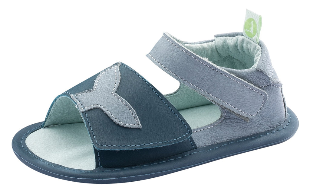 Tip Toey Joey Boy's and Girl's Whaley Sandals, Tide Blue/Laguna/Bluefish Pearl
