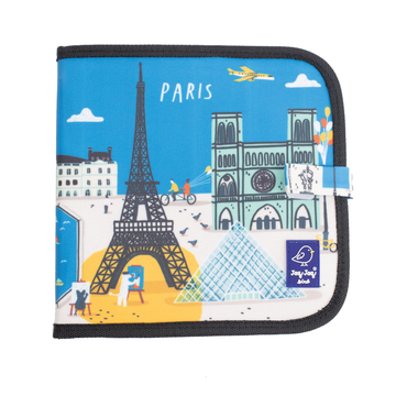 Jaq Jaq Bird Cities of Wonder Erasable Book - Paris
