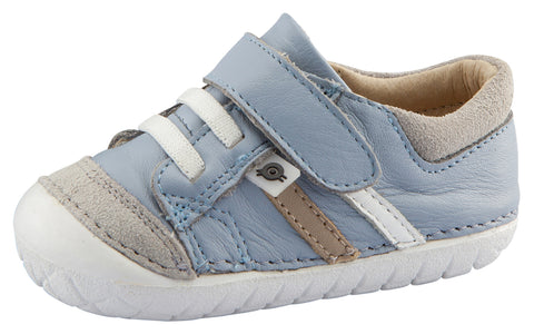 Old Soles Boy's Pave Denzle Dusty Blue Sneaker Shoe