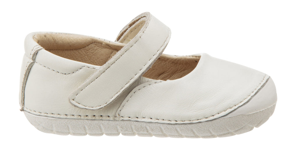 Old Soles Girl's Pave Jane Mary Jane Shoes, White