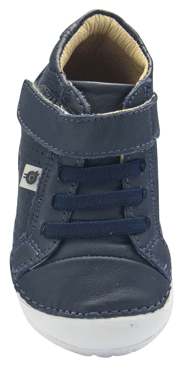 Old Soles Boy's and Girl's Pave Cheer, Navy Blue