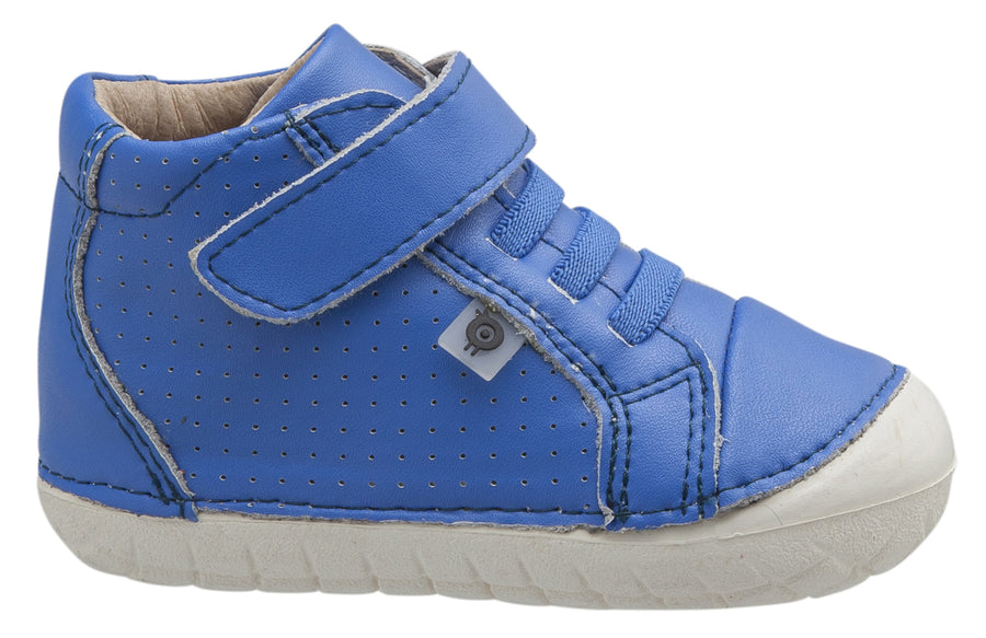 Old Soles Boy's and Girl's Cheer Pave, Neon Blue
