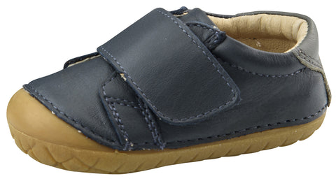 Old Soles Boy's Strap Pave Classic Shoes, Navy/Gris