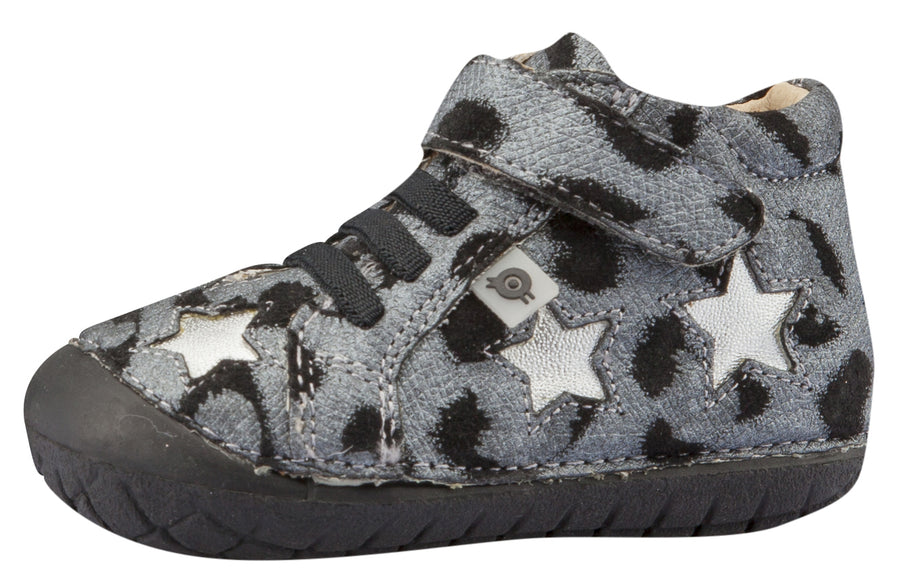 Old Soles Girl's and Boy's Reach Pave Sneakers, Cat/Silver