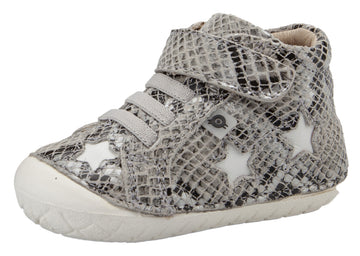 Old Soles Girl's & Boy's Reach Pave - Grey Serp/Snow
