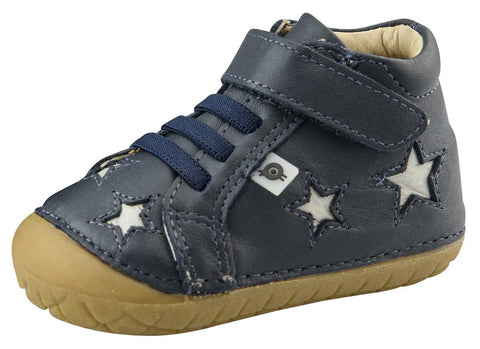 Old Soles Boy's and Girl's Reach Pave Sneaker Tennis Shoes, Navy/Gris