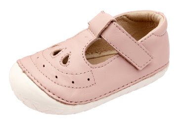 Old Soles Girl's Royal Pave T-strap Sneakers - Powder Pink