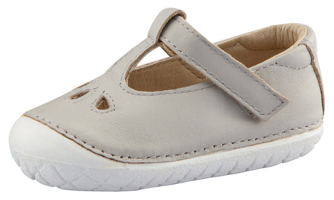 Old Soles Girl's Classic Pave T-Strap Shoes, Gris