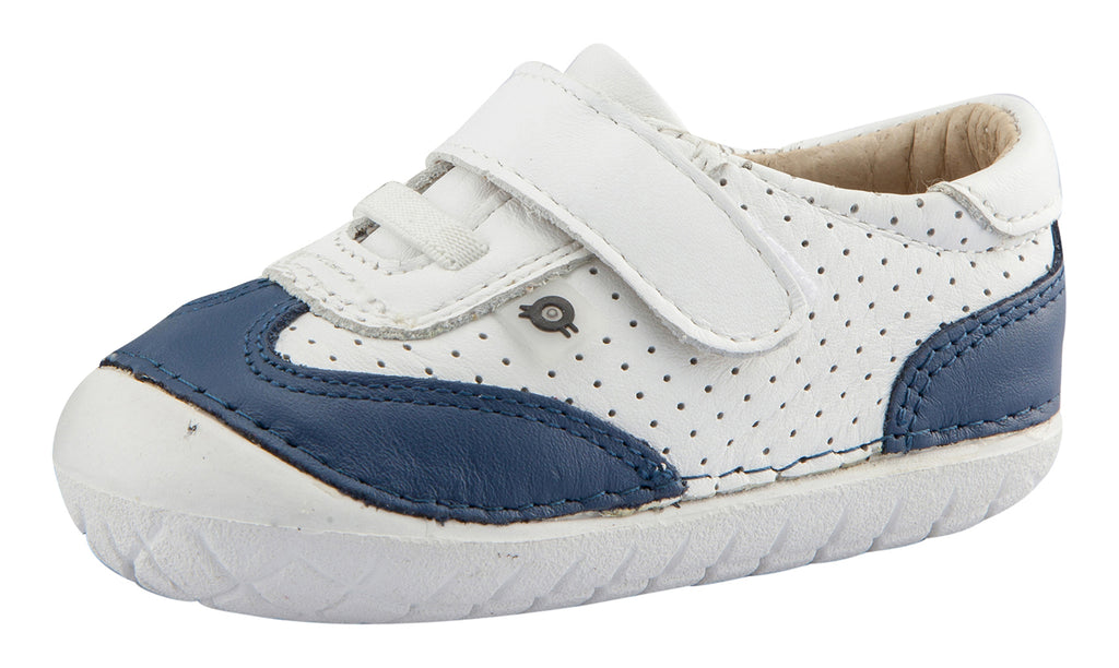 Old Soles Boy's Prize Pave Sneakers, Snow/Jeans