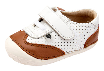 Old Soles Boy's and Girl's Prize Pave Sneakers - Snow/Tan
