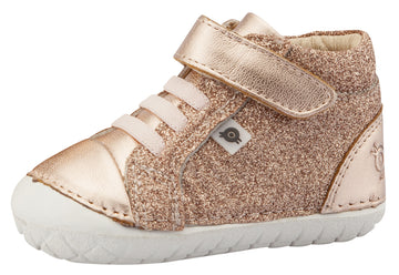 Old Soles Girl's & Boy's Ring Pave Sneakers, Glam Copper / Copper