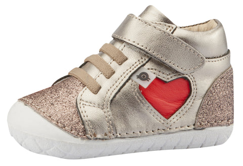 Old Soles Girl's My-Heart Pave, Glam Choc