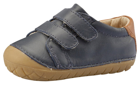 Old Soles Girl's & Boy's Cast Pave Sneakers, Navy / Tan