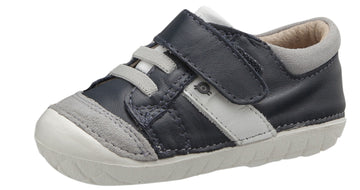 Old Soles Boy's and Girl's Thor Pave, Navy/Snow