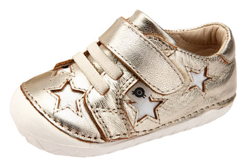 Old Soles Boy's and Girl's Starey Pave - Gold/Snow