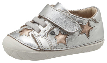 Old Soles Boy's and Girl's Starey Pave, Silver / Copper