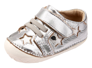 Old Soles Boy's and Girl's Starey Pave - Silver/Snow
