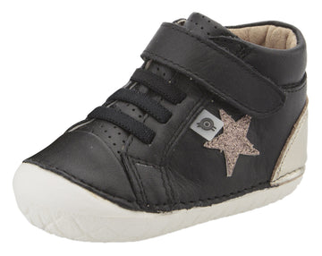 Old Soles Boy's & Girl's Champster Pave Shoes - Black/Titanium/Glam Choc