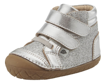 Old Soles Girl's & Boy's 4054 Glamster Pave Sneakers - Silver/Glam Argent