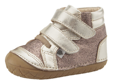 Old Soles Girl's & Boy's 4054 Glamster Pave Sneakers - Titanium/Glam Choc