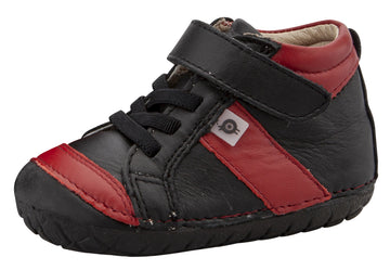 Old Soles Girl's & Boy's 4055 Line Pave Sneakers - Black/Red