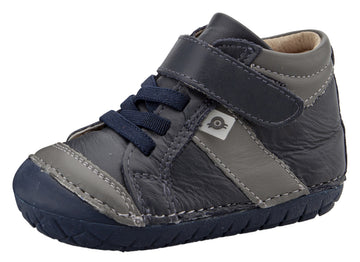 Old Soles Girl's & Boy's 4055 Line Pave Sneakers - Navy/Grey