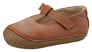 Old Soles Girl's Pave West T-Strap Shoe - Tan