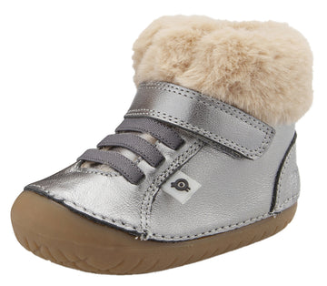 Old Soles Flake Pave Sneaker Booties - Rich Silver