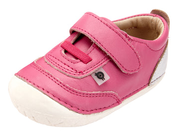 Old Soles Girl's Caramba Pave, Fuchsia/Silver