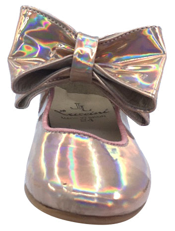 Luccini Mary Jane with Big Bow, Copper