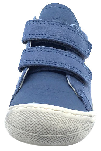 Naturino Falcotto Boy's and Girl's Rudy Outer Space Fashion Sneakers, Celeste