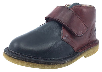 Naturino Boy's and Girl's Hook and Loop Closure Chukka Desert Boot, Bordo-Antracite