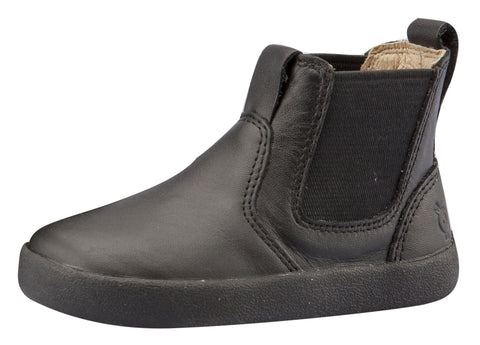 Old Soles Girl's & Boy's Click Boot, Black