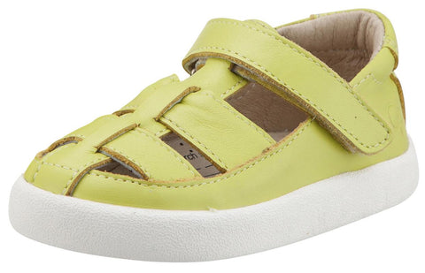 Old Soles Boy's and Girl's Oliver Lima Leather Fisherman Sneaker Shoe Sandal