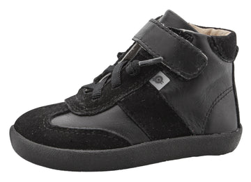 Old Soles Girl's & Boy's 5063 The cape Sneakers - Black/Black Suede
