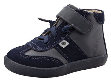 Old Soles Girl's & Boy's 5063 The cape Sneakers -Navy/Navy Suede