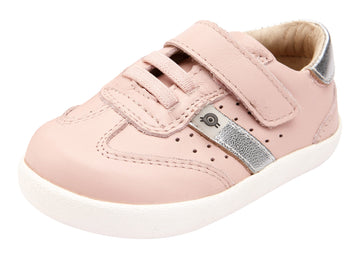 Old Soles Girl's Loadout Shoes, Powder Pink/Silver