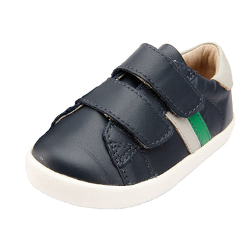Old Soles Boy's Toddy Sport, Navy/Gris/Neon Green