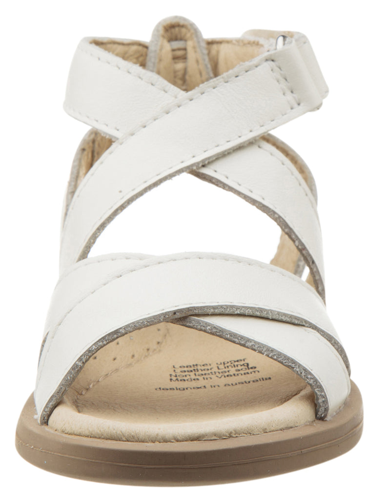 Old Soles Girl's Urban Leather Sandals, White